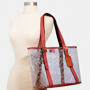 (New) Coach Clear Tote